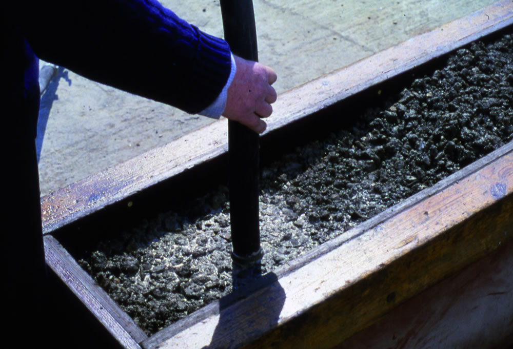 compaction of concrete Mix design considerations two key aspects of the mix design relate to placement and compaction 1 avoid segregation mix stability - defined as the concrete's.