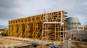 Vertical panel formwork systems